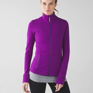 Lululemon define jacket tender violet sz. 6.